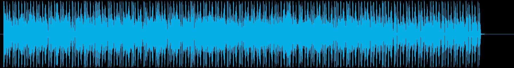 慌ただしい にぎやか ほのぼの さわやかの再生済みの波形