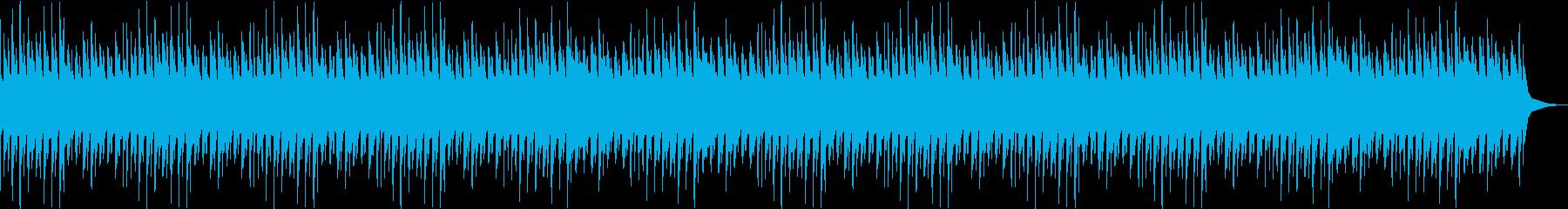 穏やか・ローファイチルアウトヒップホップの再生済みの波形