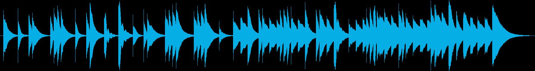 結婚式BGM_式の前日02の再生済みの波形