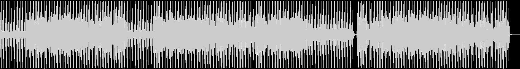 未来的でクールなミニマルテクノの未再生の波形