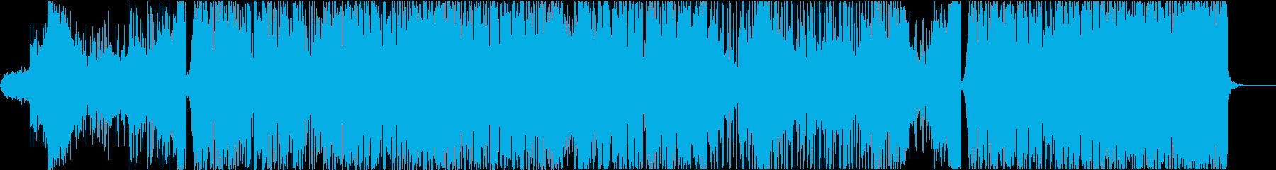 ダウンテンポ・トラップ・エレクトロの再生済みの波形