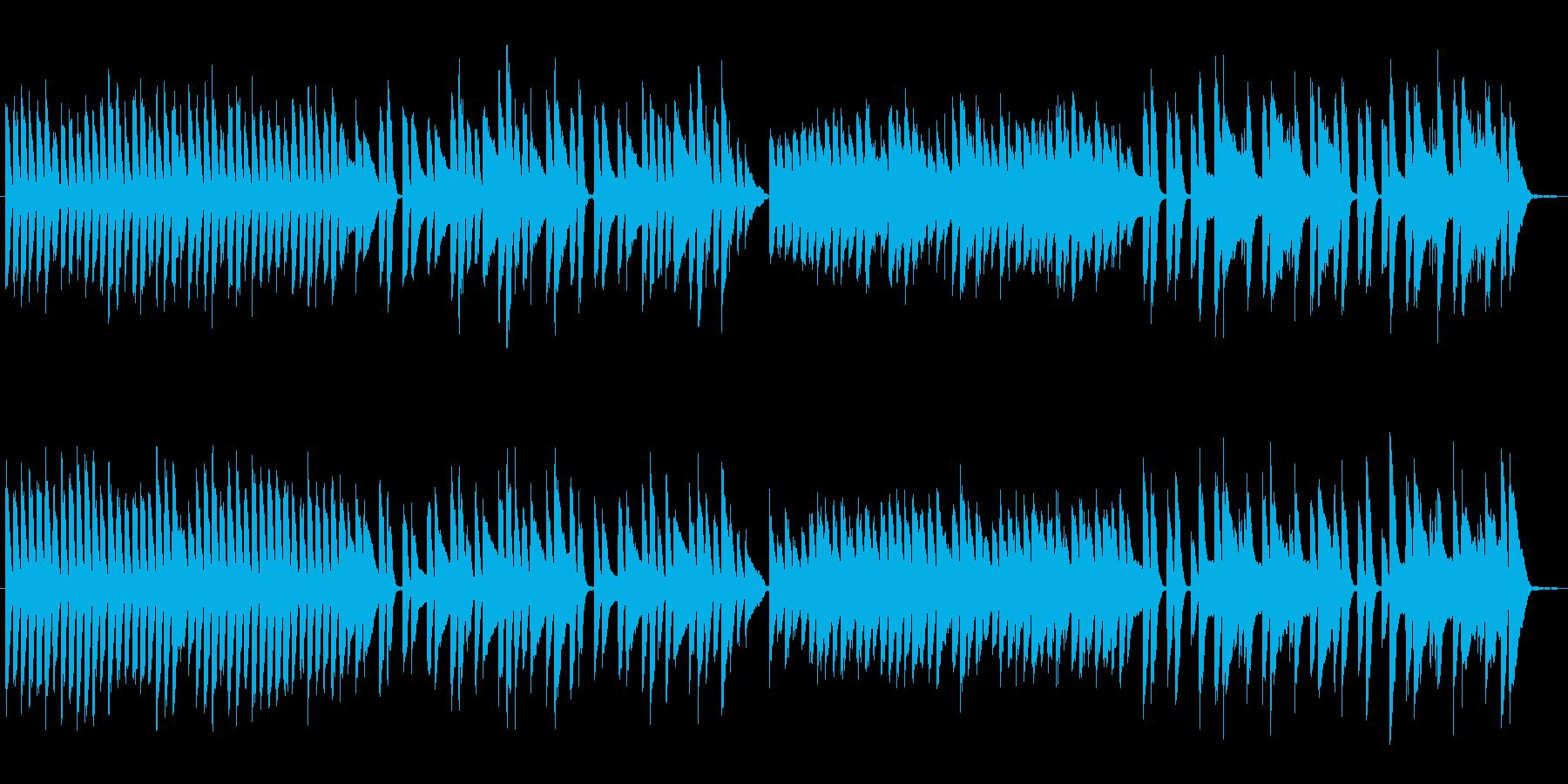 トトトのうたの再生済みの波形