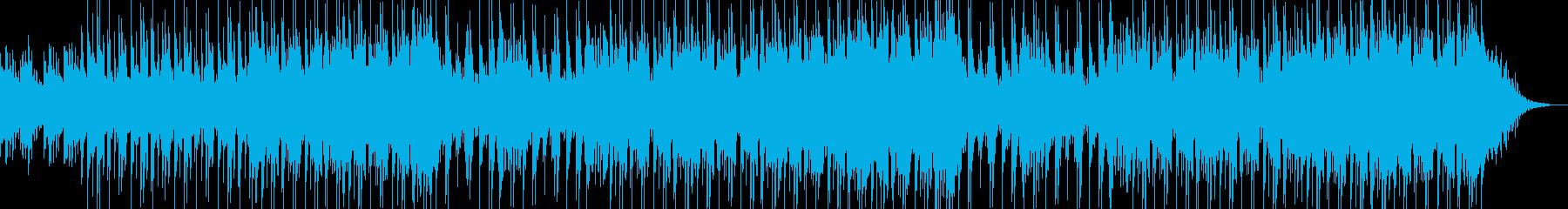 爽やかで明るく穏やかなチルアウト系EDMの再生済みの波形