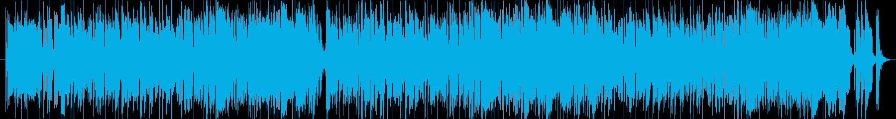 ラテンっぽい明るく軽快な雰囲気の曲です。の再生済みの波形