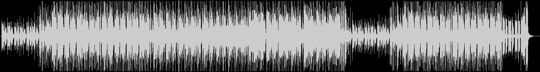 クラップと掛け声・ギターロック・ブルースの未再生の波形