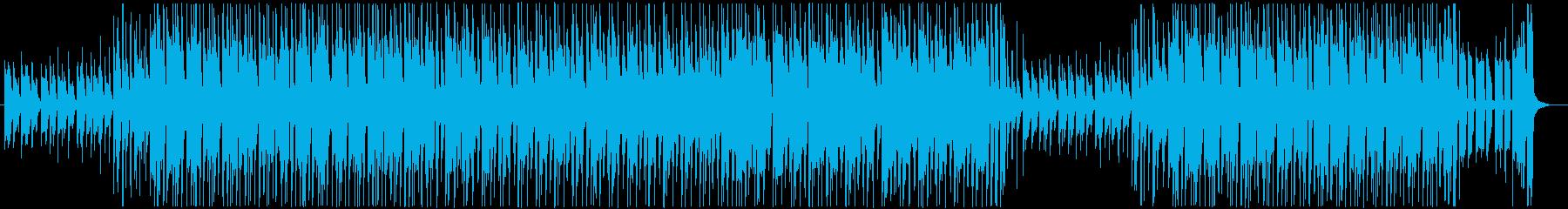 クラップと掛け声・ギターロック・ブルースの再生済みの波形