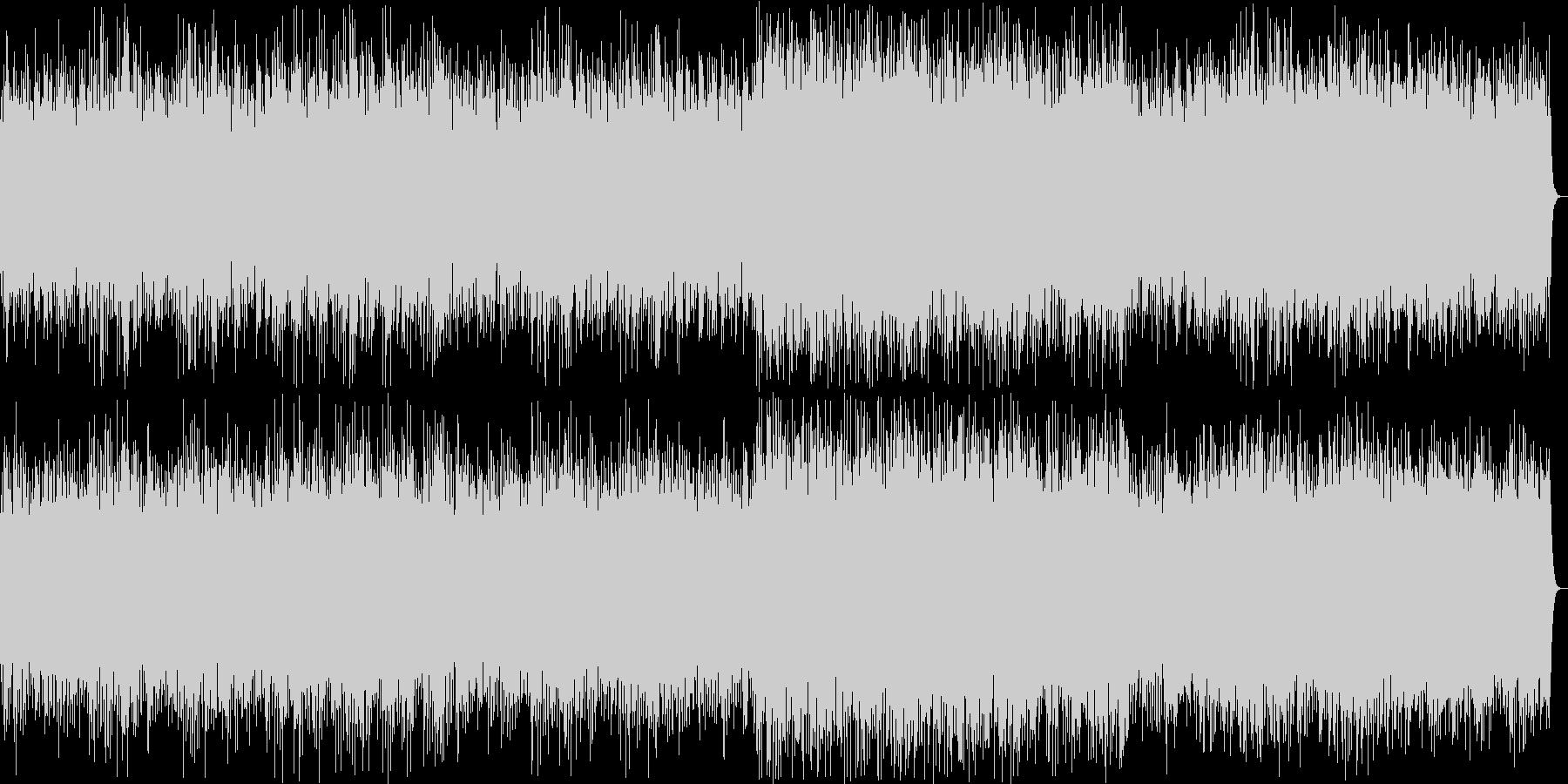 和風なリラクゼーションミュージックの未再生の波形