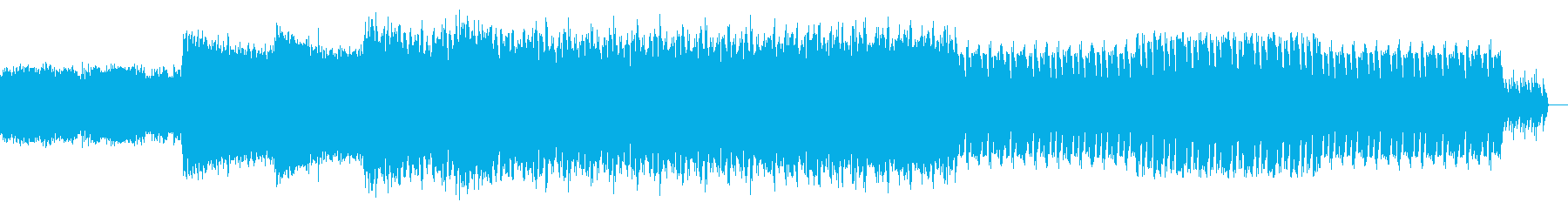 スペーステクノの再生済みの波形