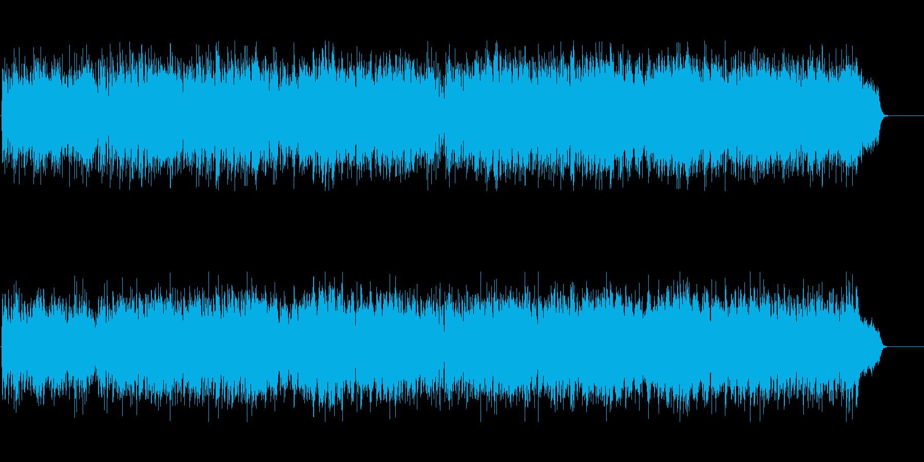 ティータイム リラックス 目覚め 軽快の再生済みの波形