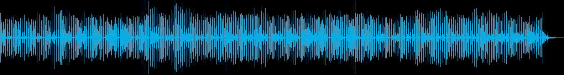 無機質な瞑想音楽。の再生済みの波形