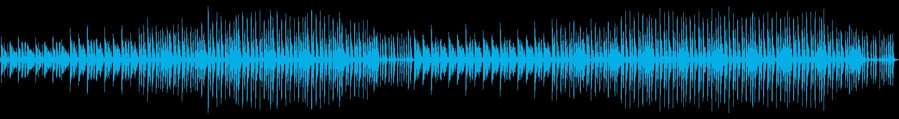 ポンポン弾むユニークなメロディーの再生済みの波形