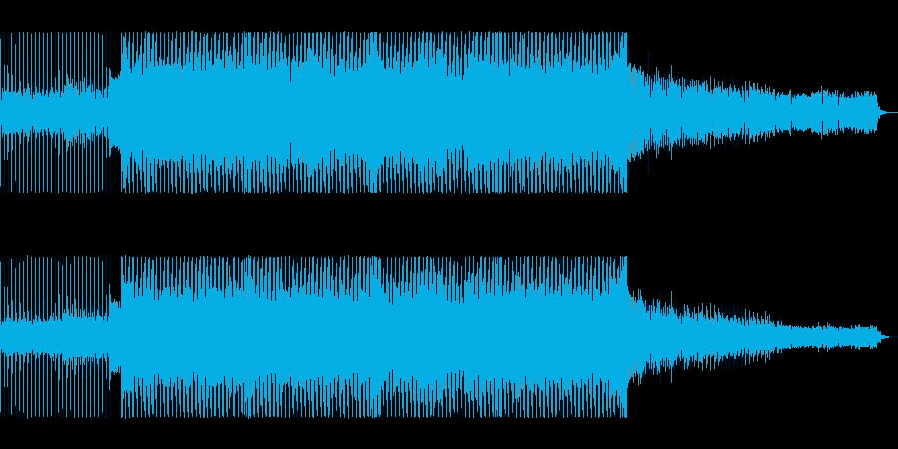 レトロなユーロ系ディスコ・リバイバルの再生済みの波形