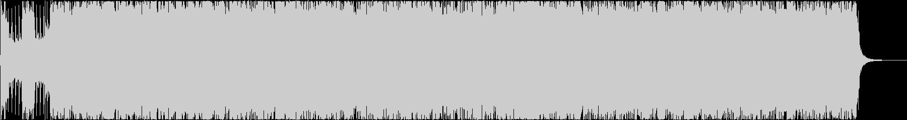 メロディックメタル風熱いインスト楽曲の未再生の波形