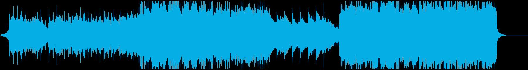 壮大なシンセとストリングスのバラードの再生済みの波形