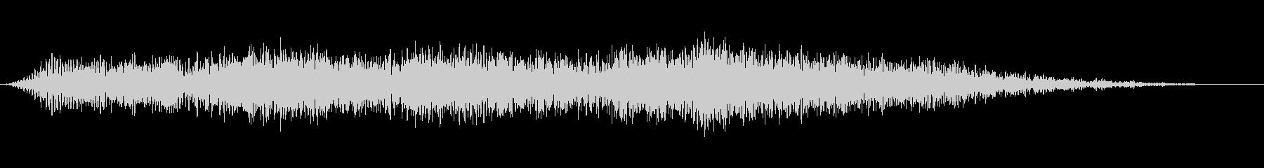 ダークマスの未再生の波形