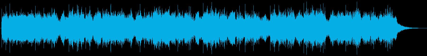 ホルンとベースとシンセの不思議な世界の再生済みの波形