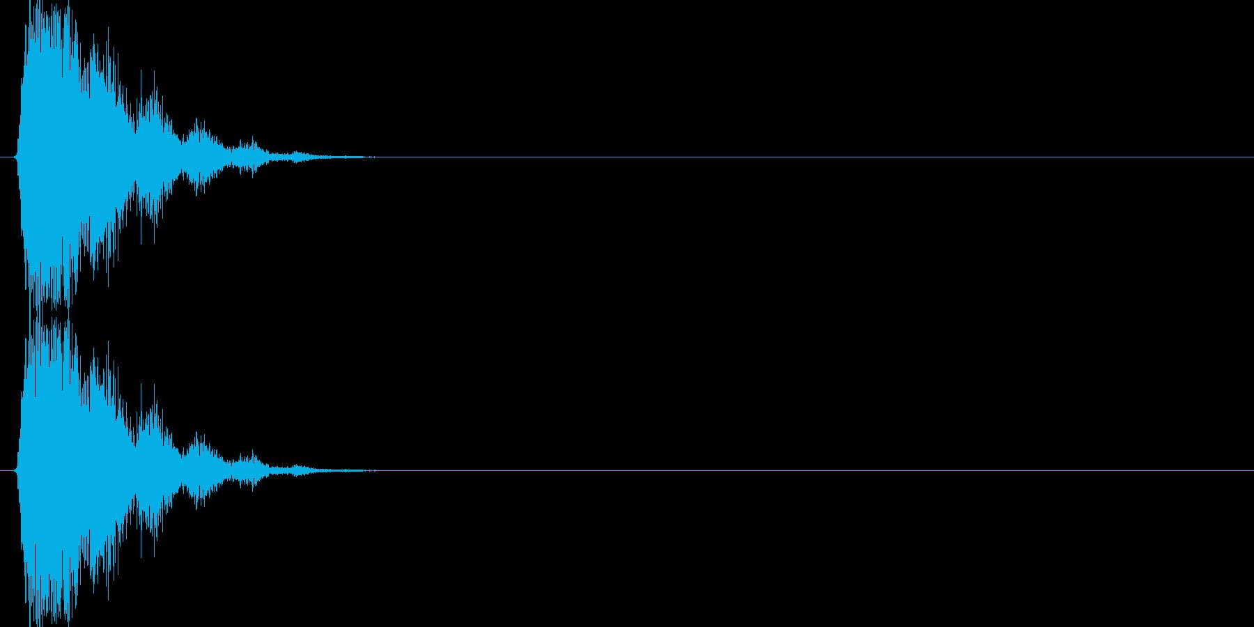 シュバババッ(場面転換、移動)の再生済みの波形