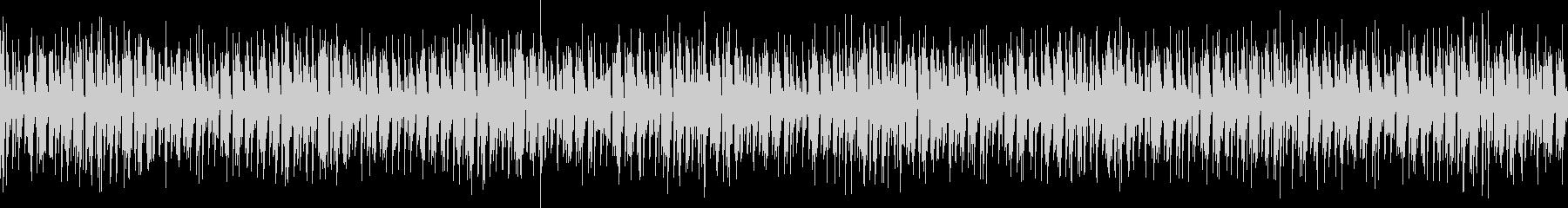 スペースディスコなハウスのループ音源の未再生の波形