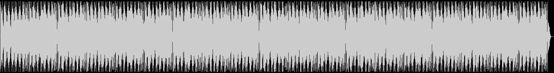 夜のニュースのエンディング風BGMの未再生の波形