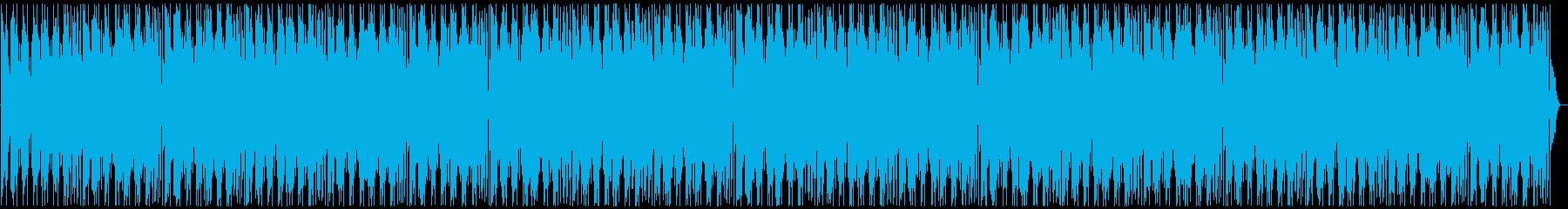 夜のニュースのエンディング風BGMの再生済みの波形