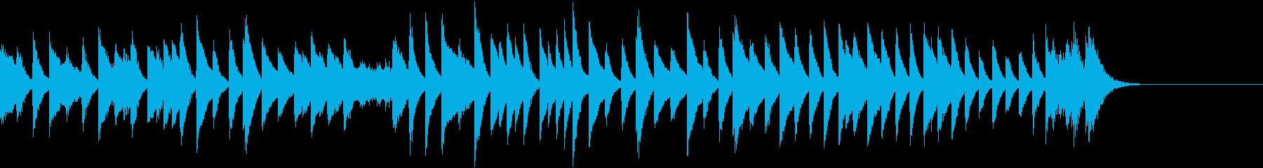 楽し忙し!アッチェレランドピアノジングルの再生済みの波形