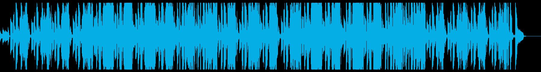 CM風のギターと口笛が軽快な曲の再生済みの波形
