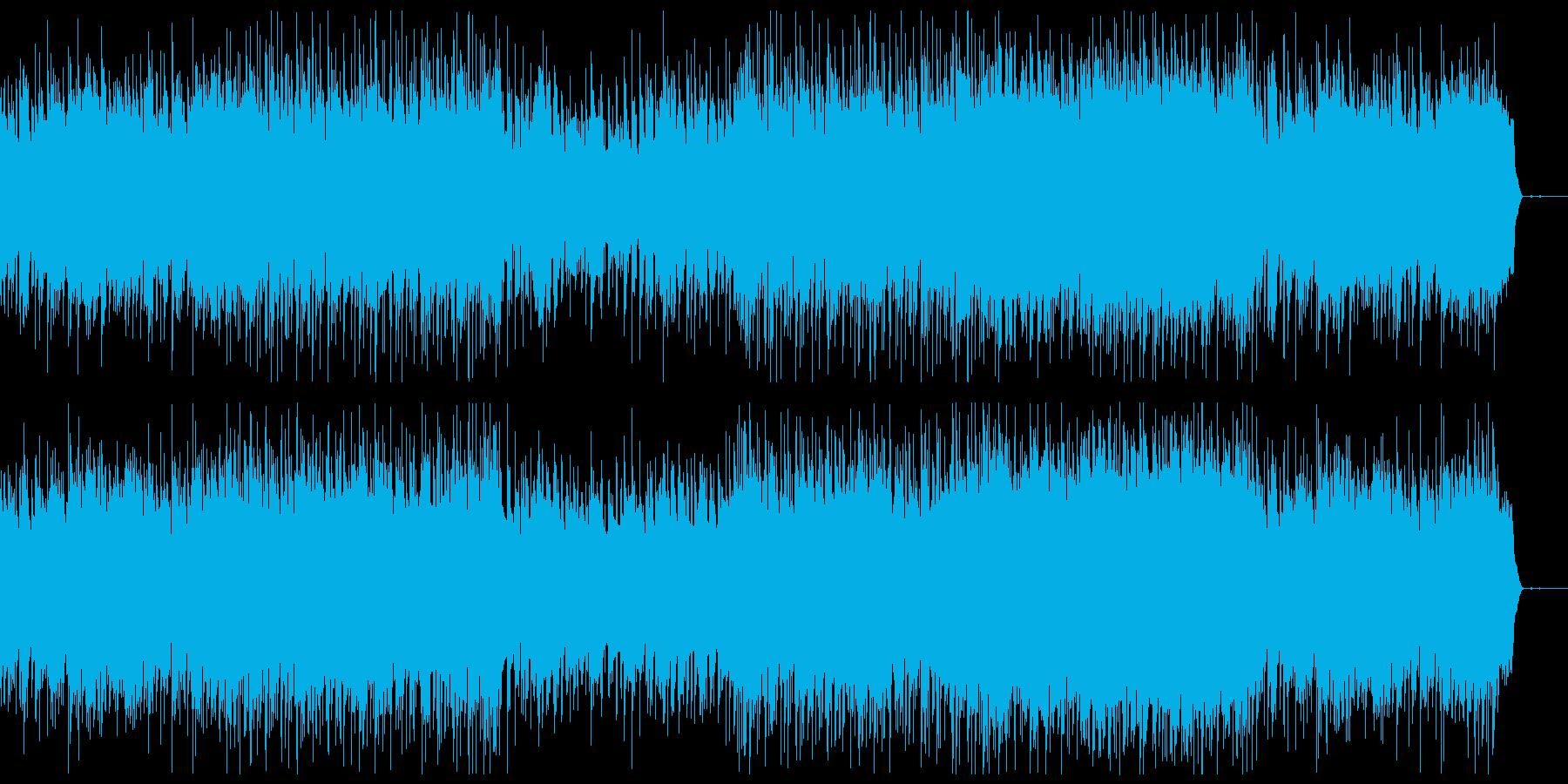 かっこいい老人の映像・おしゃれサックスの再生済みの波形