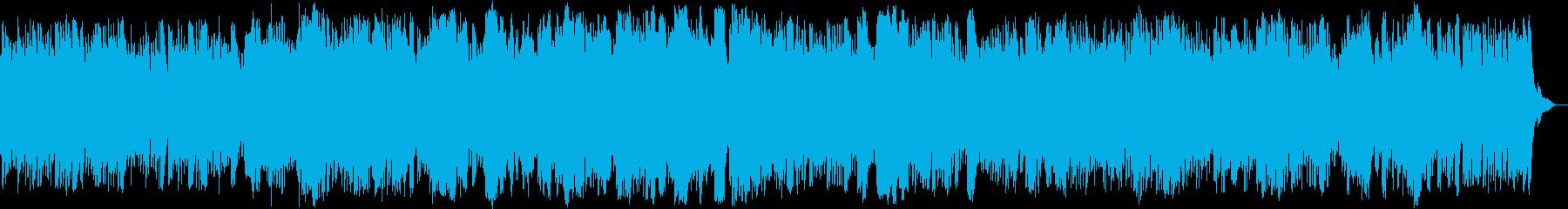 ほのぼのしたpopsの再生済みの波形