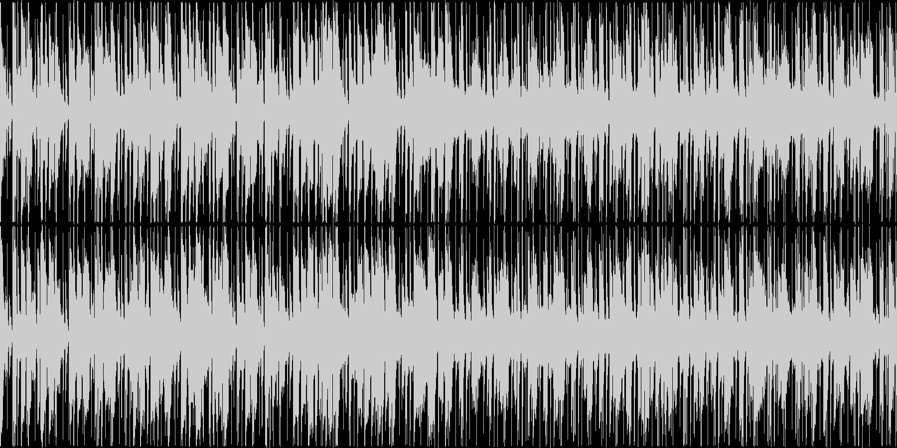 ファンキーギターが印象的スムースジャズ風の未再生の波形