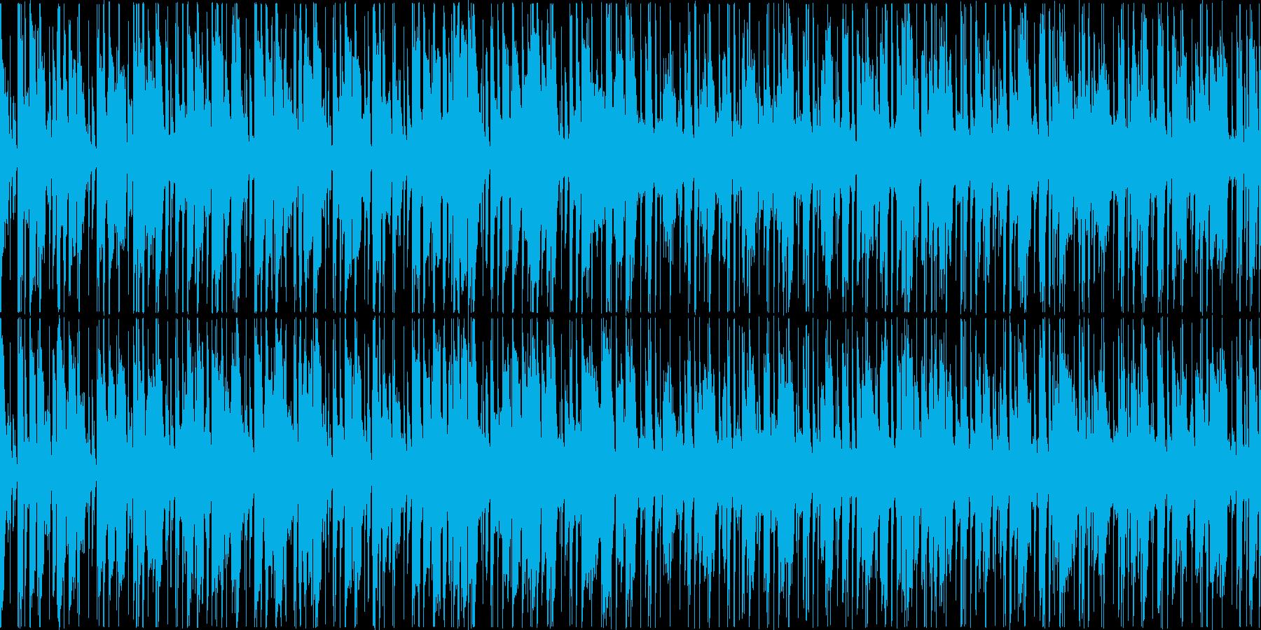 ファンキーギターが印象的スムースジャズ風の再生済みの波形
