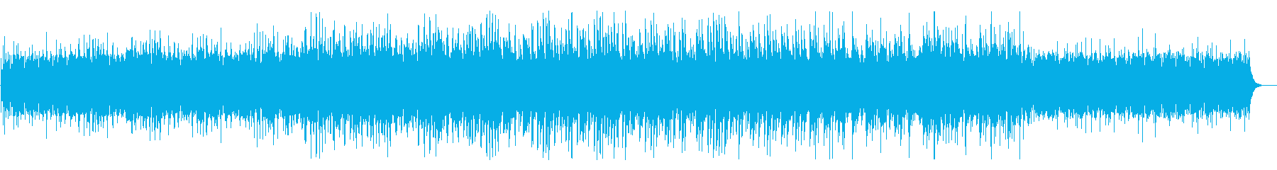 アコースティックなミニマル・ミュージックの再生済みの波形