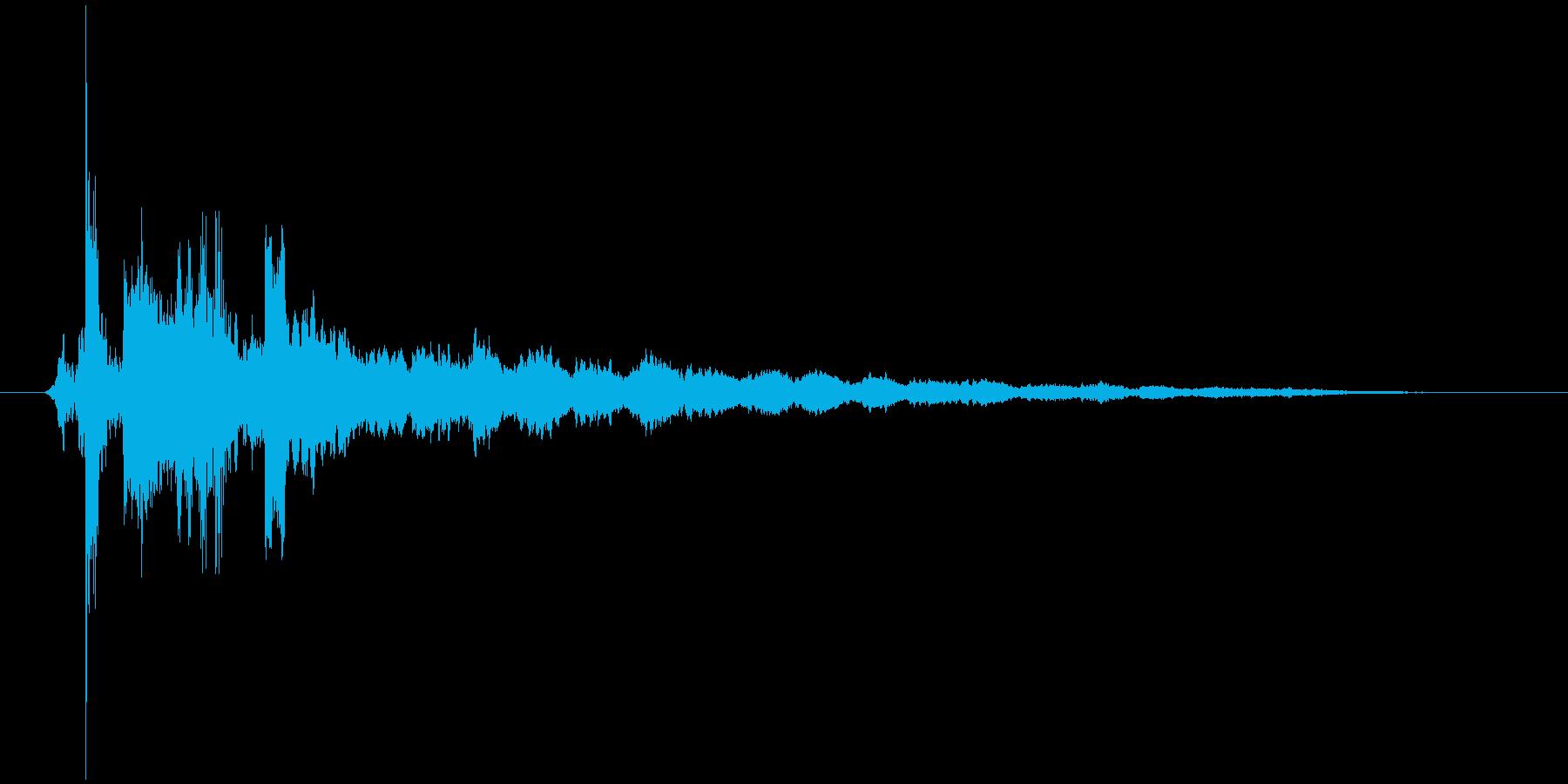 タップ.カーソル移動.クリック.決定18の再生済みの波形