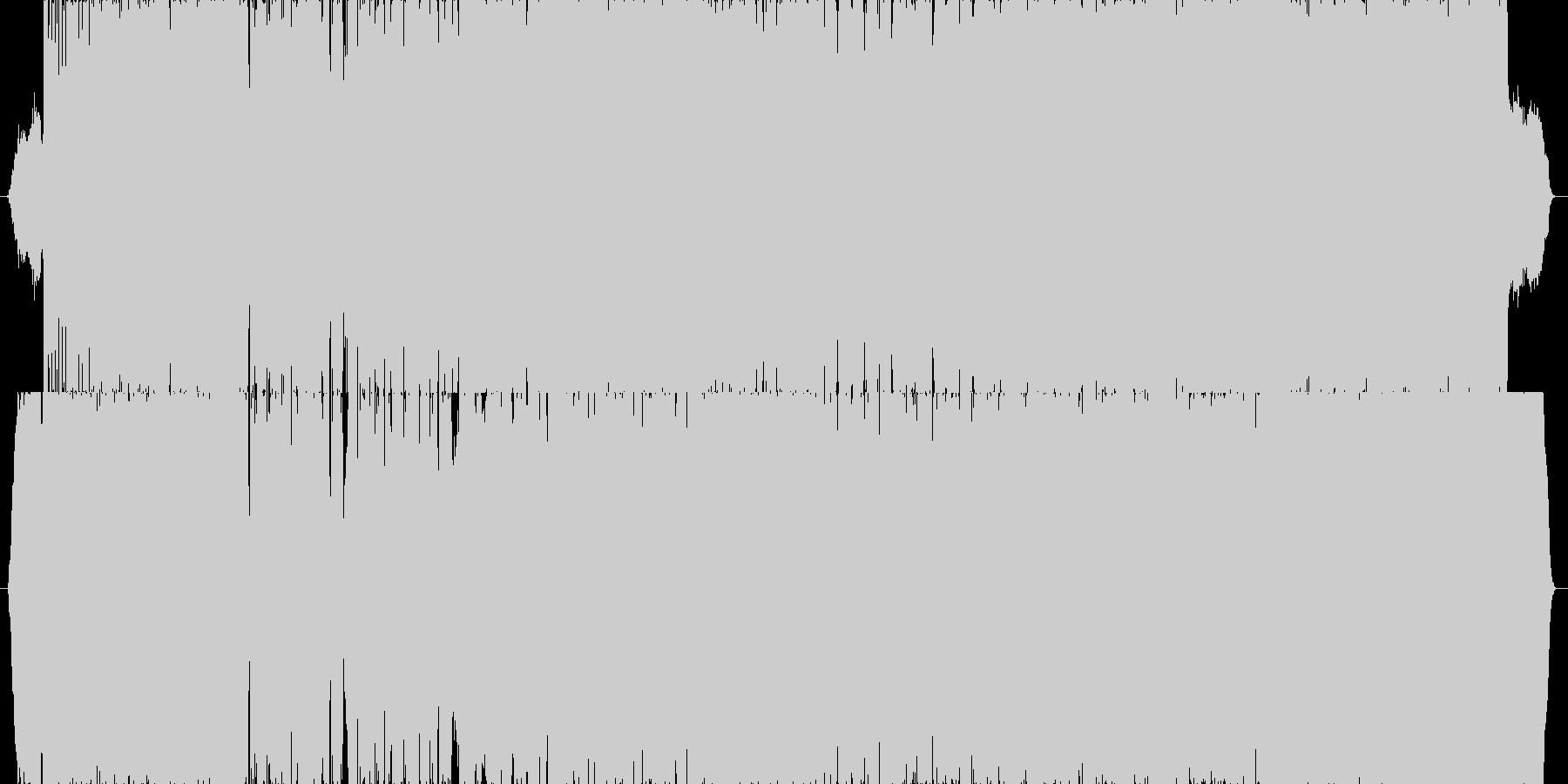 壮大感のある龍馬フォークロックバラードの未再生の波形