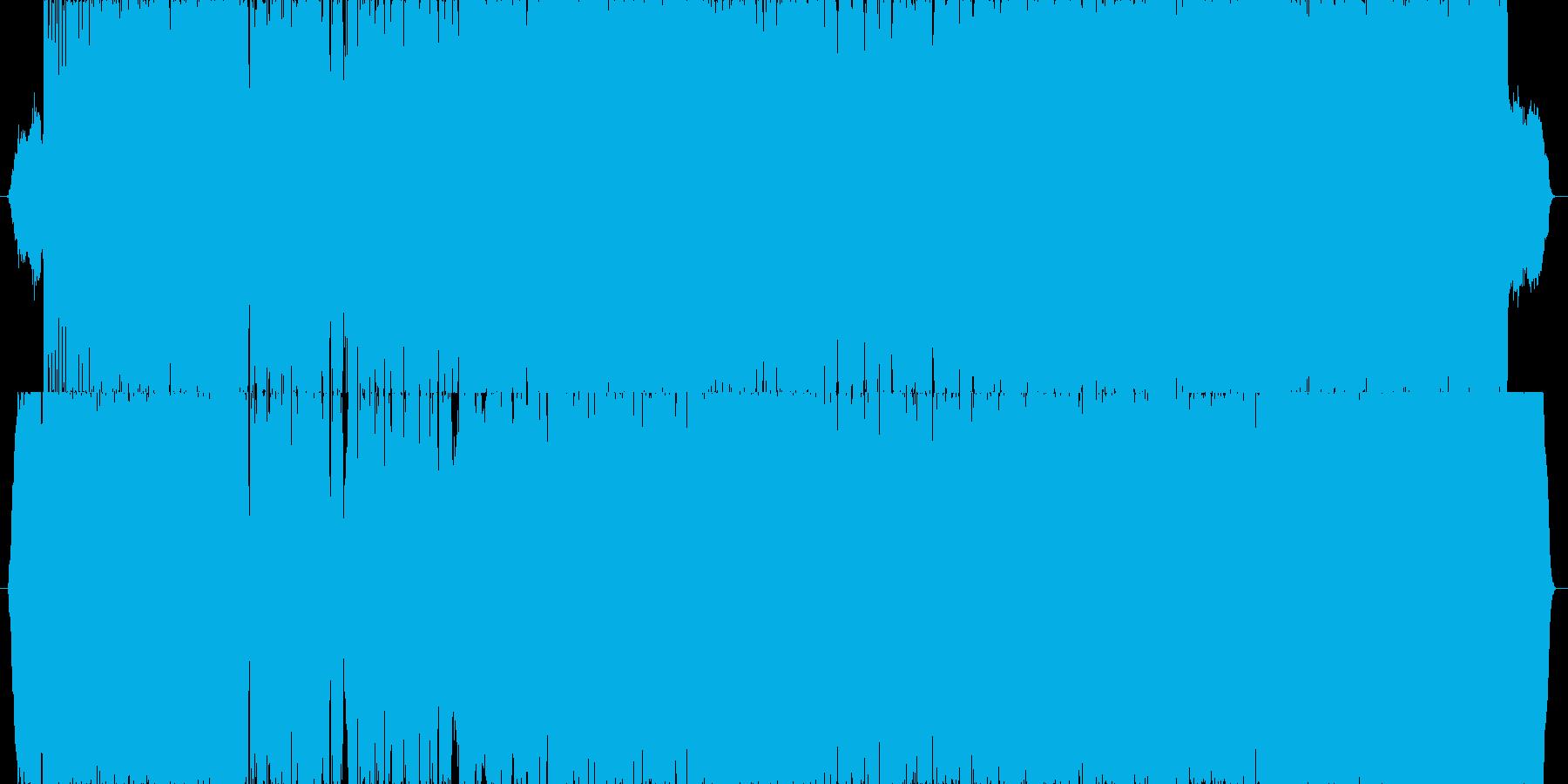 壮大感のある龍馬フォークロックバラードの再生済みの波形