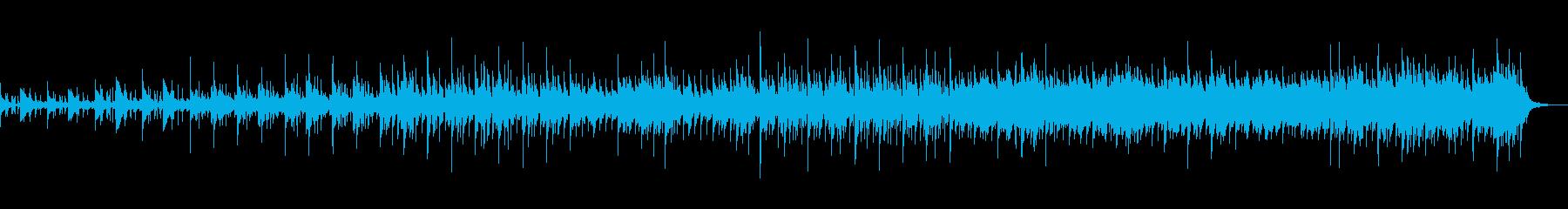 静寂で静かなるテクノポップの再生済みの波形