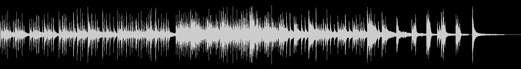企業向キラキラピアノソロで透明感動的の未再生の波形