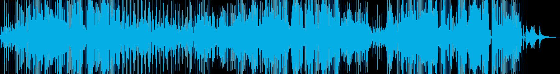 ユーモラスで軽快なジャズの再生済みの波形