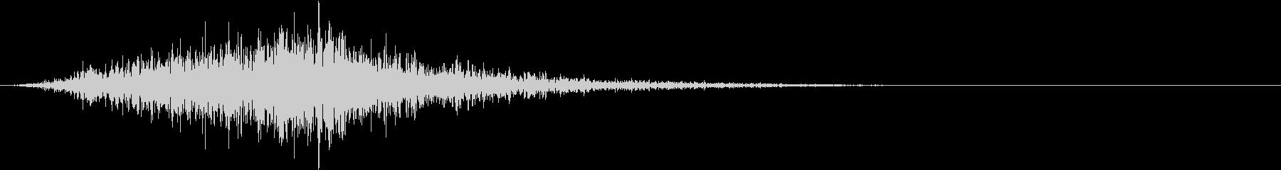 シューッという音EC07_90_1の未再生の波形