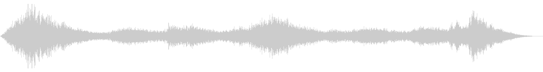 スペースドローン:ホロースワーリングバズの未再生の波形
