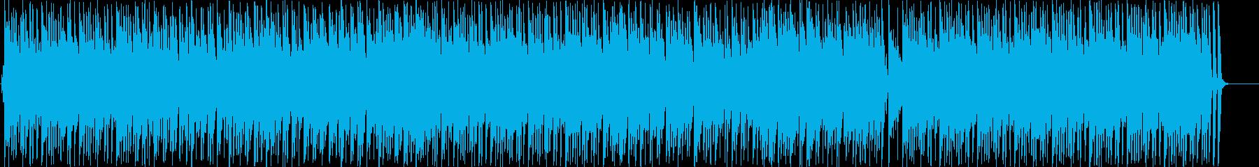 おしゃれな雰囲気のボサノバの再生済みの波形