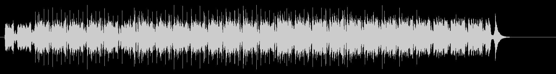 アンダーグラウンド・テクノ・ハウス風の未再生の波形