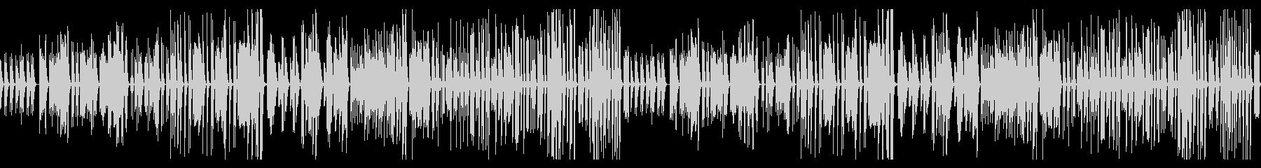 ゆったりシンプルですこしコミカルな曲の未再生の波形