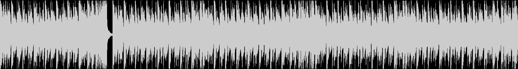 13秒でサビ、ダーク/カラオケループの未再生の波形