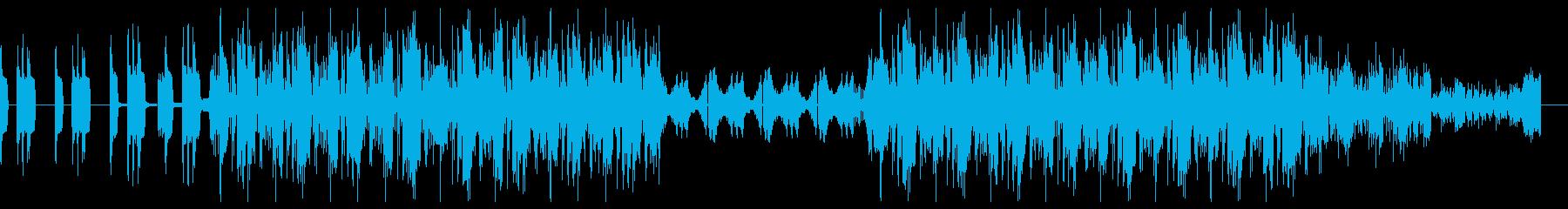 オーケストラを取り入れた迫力あるトラップの再生済みの波形