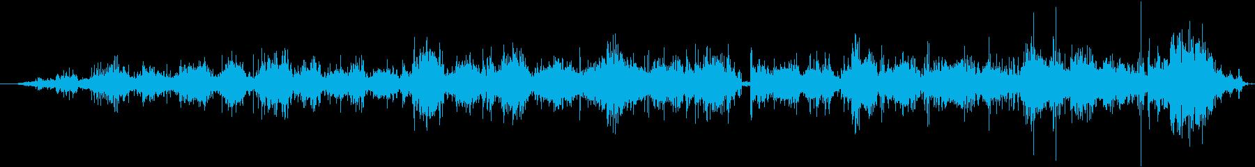 スノーボード:オンボード:ライドダ...の再生済みの波形