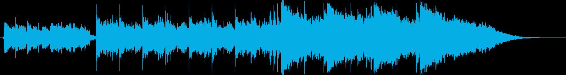 神聖なる森の入り口/ギターアルペジオの再生済みの波形