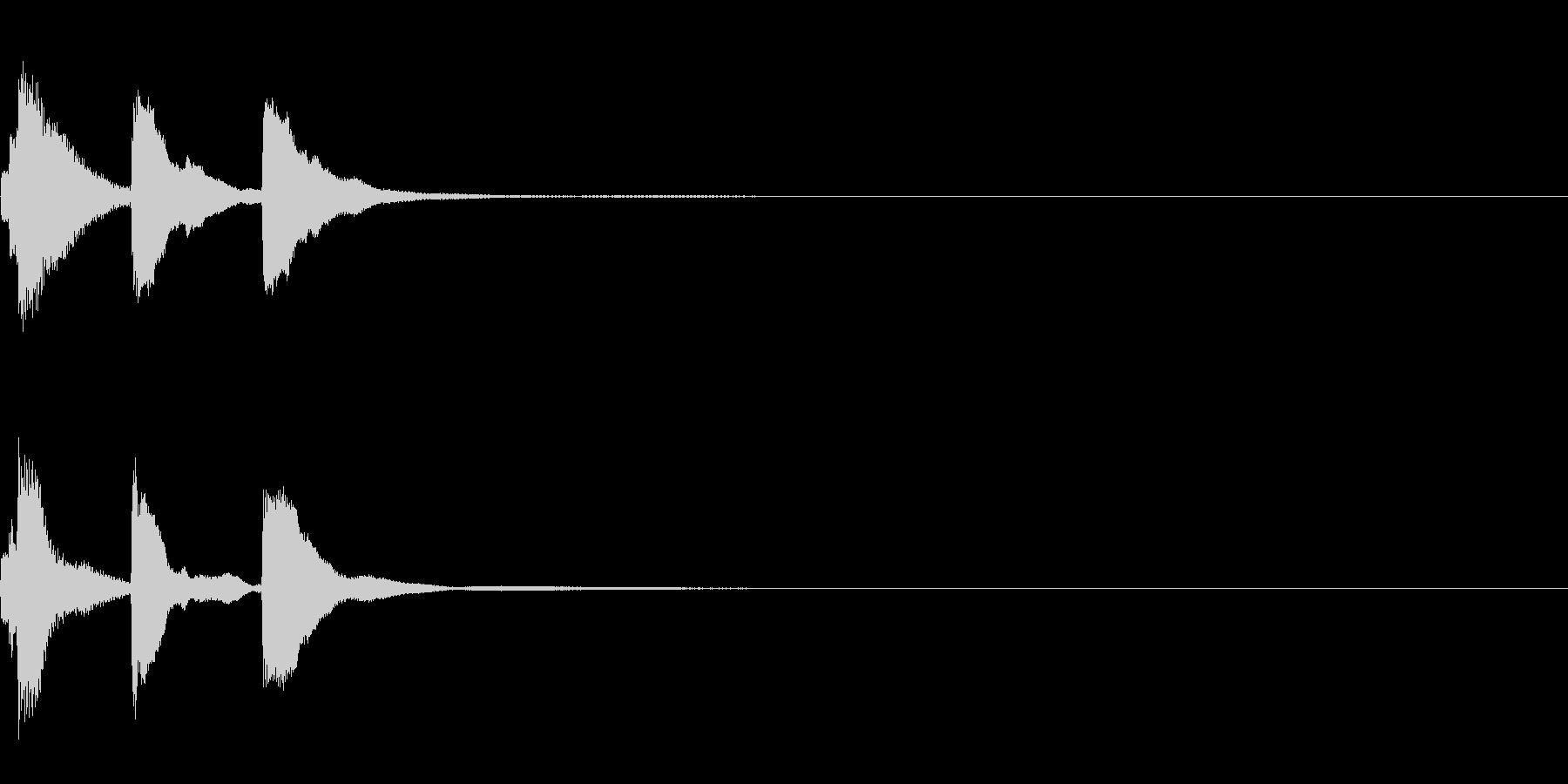 ミステリー系導入音_その10の未再生の波形