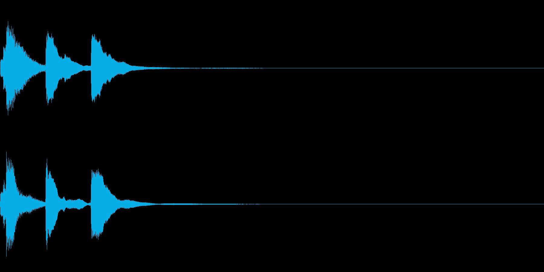 ミステリー系導入音_その10の再生済みの波形