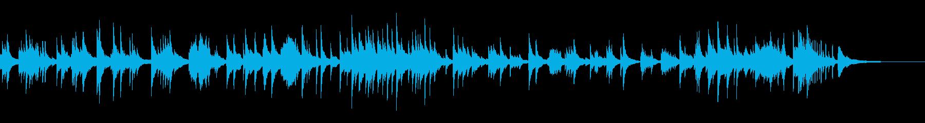癒しのピアノソロ2の再生済みの波形