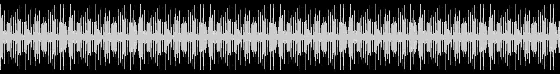 シンプルなHIPHOPのBGMの未再生の波形